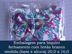 EMBALAGEM COM BOTÃO 20,0 X 16,0 +  5,0 ABA