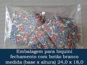EMBALAGEM COM BOTÃO 24,0 X 18,0 +  5,0 ABA