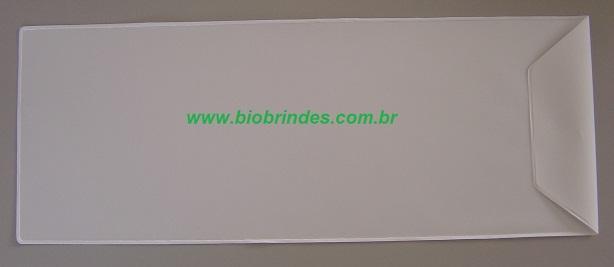 EMBALAGEM COM BOTÃO 17,0 X 45,0 +  5,0 ABA